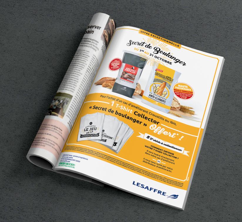 campagne de communication promotionnelle BtoB. Prime in Pack pour Lesaffre _ Agence Bigfoot