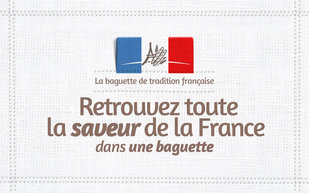 campagne de publicité  internationale pour valoriser la baguette à la française. Une campagne signée Bigfoot ; l'agence de publicité experte en communication business to business
